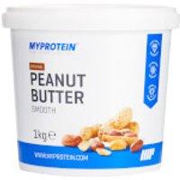 Myprotein Peanut Butter Natural - 1kg - Tub - Original - Smooth