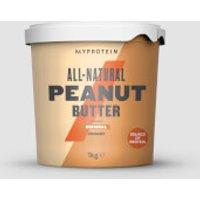 Image of All-Natural Peanut Butter - 1kg - Original - Crunchy