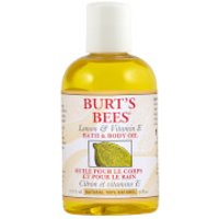 Burts Bees Lemon & Vitamin E Bath & Body Oil (4 fl oz / 115ml)
