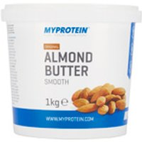 Almond Butter - 1kg - Tub - Original - Smooth