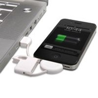 iPhone Keyring with USB Charging Cable