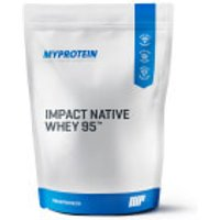 Impact Native Whey 95 - 1kg - Pouch - Unflavoured
