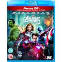 Marvel Los Vengadores 3D (incluye versión