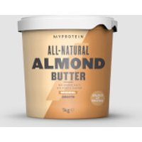 All-Natural Almond Butter - 1kg - Original - Smooth