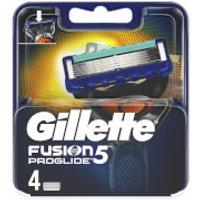 Gillette Fusion5 ProGlide Razor Blades (4 Pack)