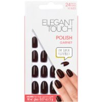 Elegant Touch Pre Polished Nails - Garnet