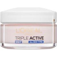 L'Oreal Paris Dermo Expertise Triple Active Hydrating Night Moisturiser (50ml)