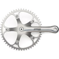 Campagnolo Record Pista Track Chainset - Silver - 50T 170mm