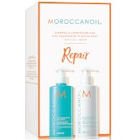 Moroccanoil Moisture Repair Shampoo & Conditioner Duo (2x500ml) (Worth 69.40)