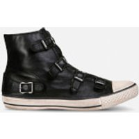 Ash Women's Virgin Leather Hi-Top Trainers - Black - UK 5