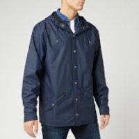 RAINS Men's Jacket - Blue - M-L