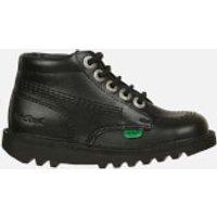 Kickers Kids Kick Hi Boots - Black - UK 7 Infant/EU 24 - Black