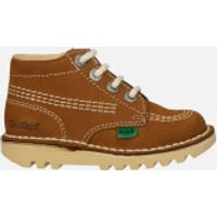 Kickers Infant Kick Hi Boots - Tan - UK 12 Infant/EU 30 - Tan