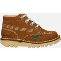 Kickers Infant Kick Hi Boots - Tan - UK 10 Infant/EU 28 - Tan