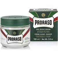 Proraso Pre Shave Cream   Eucalyptus   Menthol