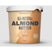 Image of All-Natural Almond Butter - 1kg - Original - Crunchy