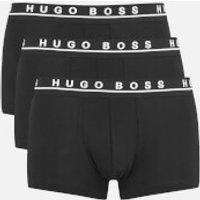 BOSS Hugo Boss Mens 3-Pack Boxers - Black - L - Black