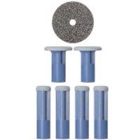 Discos de recambio PMD - Pack 6x azul