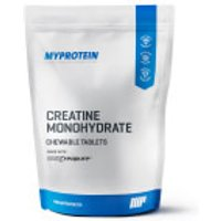 Creatine Monohydrate (Creapure®) Chewable Tablets - 180tablets - Lemon