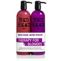 TIGI Bed Head Dumb Blonde Tween Duo 2 x 750ml (Worth 29.95)