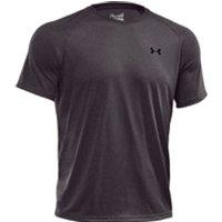 Under Armour Mens Tech T-Shirt - Dark Grey - M - Grey