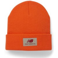 New Balance Unisex Troy Beanie - Acrylic Fluo Orange