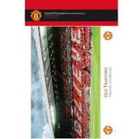 Manchester United Old Trafford Interior - 10   x 8   Bagged Photographic - Manchester United Gifts