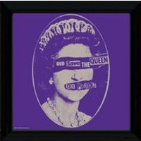 Sex Pistols God Save the Queen - 12   x 12   Framed Album Prints - Sex Pistols Gifts