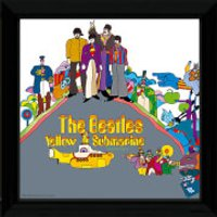 The Beatles Yellow Submarine 2 - 12 x 12 Framed Album Prints