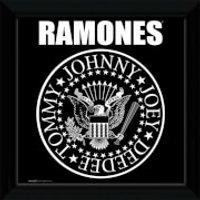 The Ramones Seal - 12   x 12   Framed Album Prints - Ramones Gifts