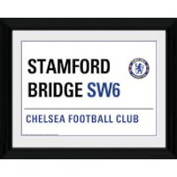 Chelsea Street Sign - 16   x 12   Framed Photographic - Chelsea Gifts