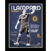 Chelsea Lampard Retro - 16 x 12 Framed Photographic