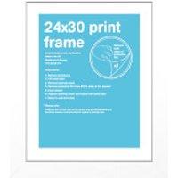 White Frame - 24 x 30cm