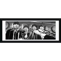 The Beatles Interview - 30 x 12 Framed Photographic