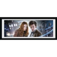 Doctor Who Main - 30 x 12 Framed Photographic