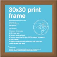 Pine Frame - 30 x 30cm