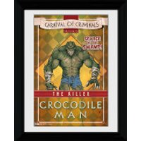 Batman Circus Crocodile Man - 30 x 40cm Collector Prints - Batman Gifts