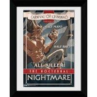 Batman Circus Nocturnal Nightmare - 30 x 40cm Collector Prints - Batman Gifts