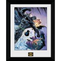 Batman Fist Fight - 30 x 40cm Collector Prints - Batman Gifts