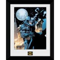 Batman Moonlit Kiss - 30 x 40cm Collector Prints - Batman Gifts