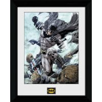 Batman Scarecrow - 30 x 40cm Collector Prints - Batman Gifts