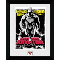 Superman Last Son of Krypton - 30 x 40cm Collector Prints - Superman Gifts