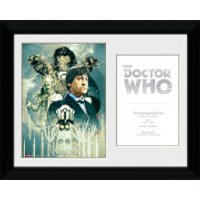 Doctor Who 2nd Doctor Patrick Troughton - 30 x 40cm Collector Prints - Doctor Who Gifts
