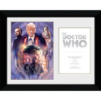 Doctor Who 3rd Doctor Jon Pertwee - 30 x 40cm Collector Prints - Doctor Who Gifts