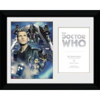 Doctor Who 9th Doctor Christopher Ecclestone - 30 x 40cm Collector Prints - Doctor Who Gifts