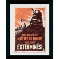 Doctor Who Daleks - 30 x 40cm Collector Prints - Doctor Who Gifts
