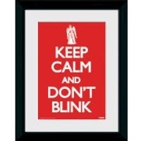 Doctor Who Keep Calm Dont Blink - 30 x 40cm Collector Prints