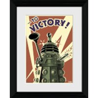 Doctor Who Victory - 30 x 40cm Collector Prints - Doctor Who Gifts