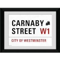 London Carnaby Street - 30 x 40cm Collector Prints