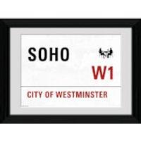 London Soho - 30 x 40cm Collector Prints